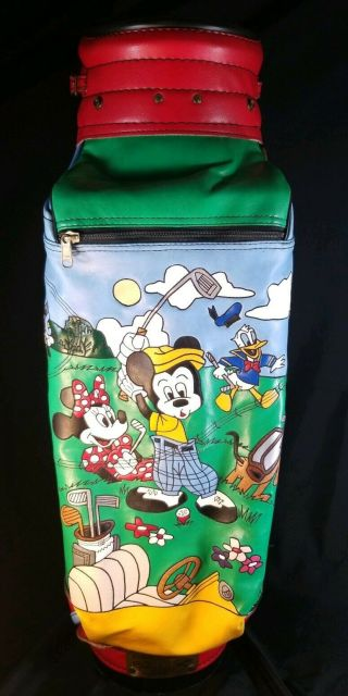 Limited Edition Walt Disney Tour Golf Bag (210 Of 250) By Belding Sports Rare