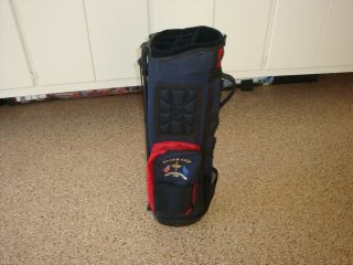 Vintage Rare Ryder Cup The Country Club Golf Bag By Datrek 7 - Way (navy/red)