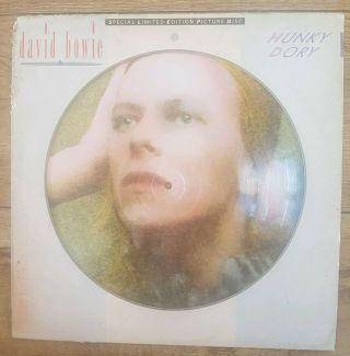 David Bowie - Hunky Dory - Rare Biopic Picture Disc Ltd Edition With Certificate