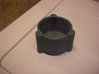 Early Matte Green Arts And Crafts Pottery Rare Form