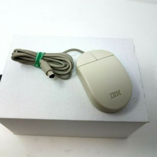 Vintage Ibm Ps/2 Mouse 2 Button Rare 13h6690 Ships Immediately