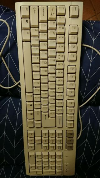 Btc Keyboard Ps2 Retro Beige 5199 Rare