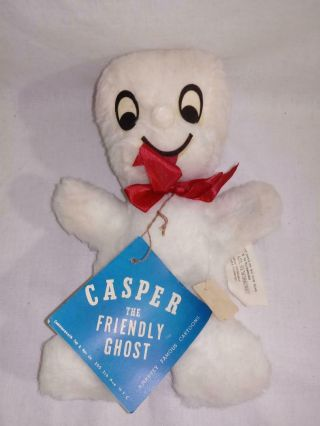 Rare 1960 Harvey Comics Casper The Friendly Ghost With Tags