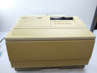 Vintage And Rare Hewlett Packard Hp Laserjet 4v Laser Printer - Read