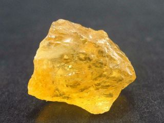 Rare Etched Gem Heliodor Crystal From Brazil 17.  8 Carats
