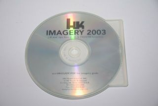 Heckler& Koch Hk Multi Media Cd Hk Weapons Imagery 2003 Fabarms Rare Collectible