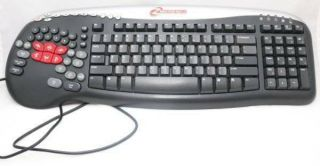 Rare Steelseries Merc Stealth Gaming Keyboard Ku - 0453 Zboard Z Board Htf