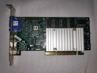 3dfx Voodoo 3 3000 (16mb) 210 - 0364 - 003 Agp 1x 2x Vga Video Graphics Card Rare