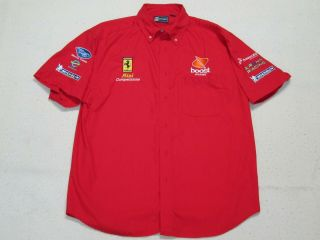 Risi Competizione Alms Rare Racing With Ferrari Team Members Only Shirt - Large