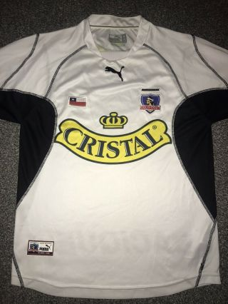 Colo Colo Home Shirt 2002/03 Medium Rare And Vintage