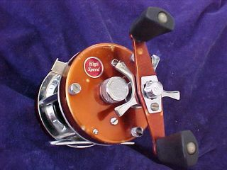 Rare Copper Vintage Abu Garcia Ambassadeur 5500 High Speed Fishing Reel Sweden