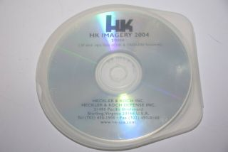 Heckler& Koch Hk Multi Media Cd Hk Weapons Imagery 2004 Fabarms Rare Collectible