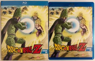 Dragon Ball Z Season Six Blu Ray 4 Disc,  Rare Oop Slipcover Episodes 166 - 194