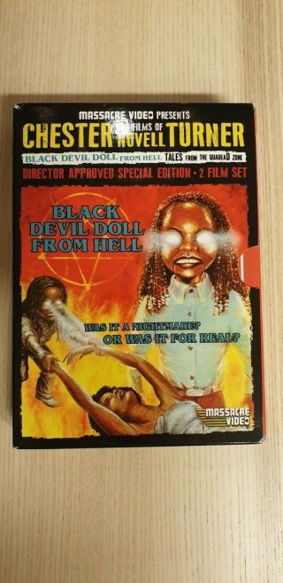 Black Devil Doll From Hell,  Tales From The Quadead Zone (massacre Video) Rare