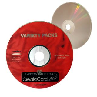 (nearly) Rare Variety Pack American Greetings Creatacard Cd - Xclusivedealz