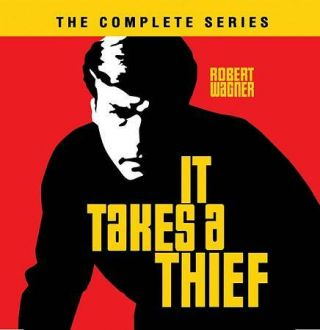 It Takes A Thief: The Complete Series,  Dvd,  18 - Disc Set.  (case) Rare Oop