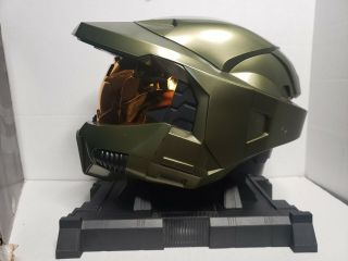 Very Rare Halo 3 Helmet Legendary Edition With Stand 2006 (no Game)