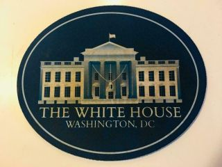 White House Mouse Pad Present Rare Political Gift Shpg