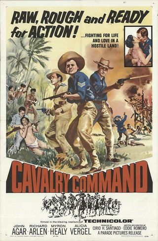 Rare 16mm Feature: Cavalry Command (i B Technicolor) Jon Agar / Western