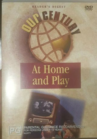 Our Century At Home And Play Rare Deleted Dvd Australian Documentary Film