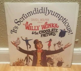 Willy Wonka And The Chocolate Factory Very Rare Laserdisc