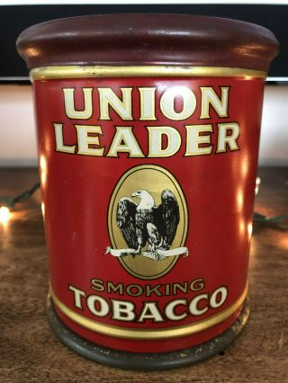 Vintage Rare Tobacco Advertising Tin Canister – Union Leader