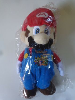 Rare Sanei Mario Party 5 Plush 2004 Medium Nintendo Sml