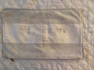 Restoration Hardware French Linen Pillow Cover Rare Cotton