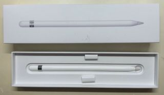 Apple Pencil Stylus - White,  First Generation,  Very,  Rarely.