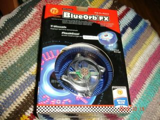 Cpu Cooler:thermaltake Blueorb Fx Modded Displays Temperature And Logo,  Very Rare