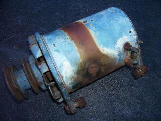 Vintage Ford 6000 Diesel Tractor - Generator & Double Pulley - 1963
