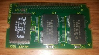 Rare Newer Tech 4mb Memory Upgrade For Apple Emate 300