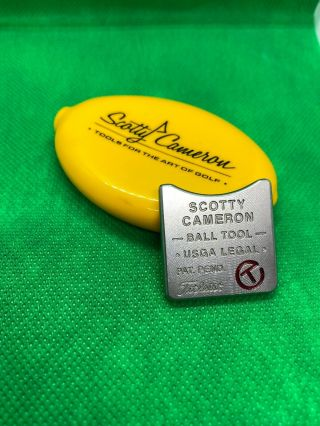 Rare Scotty Cameron Circle T Alignment Tool Ball Marker