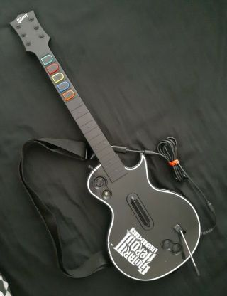 Guitar Hero Iii Gibson Les Paul Wired Guitar Controller For Xbox 360 [rare]
