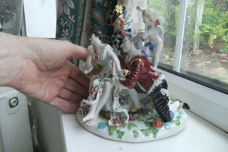 Extremely Rare Meissen Porcelain Figure Group,  C.  1740 /45.  Modeled By J.  J.  Kandler