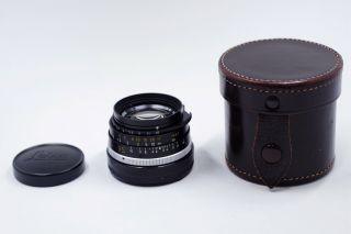Rare Leica 35mm Summilux M 35mm F/1.  4 35/1.  4 Lens Pre - Asph 1st Ver.  Germany