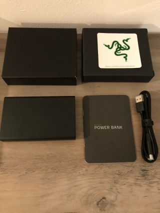Razer Power Bank,  Rare - With All Accessories