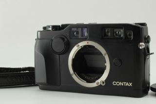 【rare Near Mint】contax G2 Black 35mm Rangefinder Body Only From Japan 224