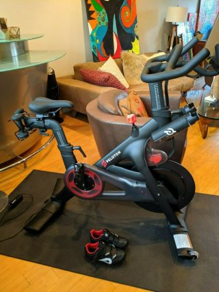 Rarely Peloton Bike - Less Than 10 Rides,  Accessories