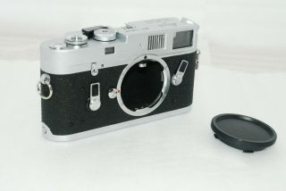 """ Rare Near "" Leica M4 35mm Rangefinder Camera Chrome 3132"
