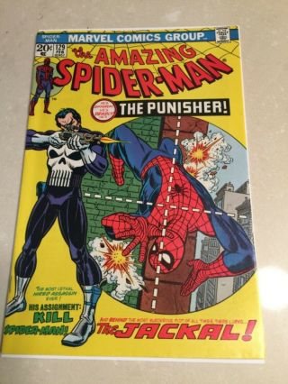 Rare 1974 Bronze Age Spider - Man 129 Key 1st Punisher