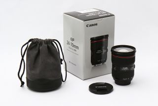 Canon Ef 24 - 70mm F/2.  8 Ii Lens Rarely