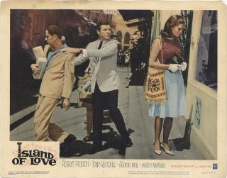 Rare 16mm Feature: Island Of Love (i B Technicolor / Letterboxed) Robert Preston