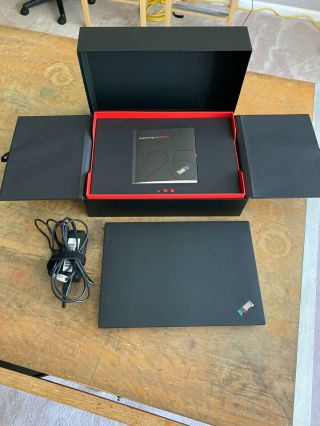 Thinkpad 25th Anniversary Laptop 20k70004us - Very Rare W/ Box