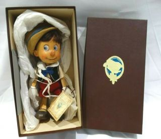 "Rare "" Pinocchio "" - R.  John Wright Dolls Inc. ,  Felt Collectibles Le 215/500"