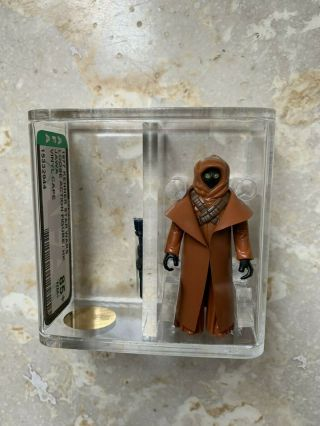 1977 Vintage Star Wars Kenner Vinyl Cape Jawa Afa 85,  Gold Level With