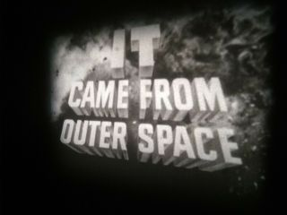 8mm Film It Came From Outer Space (1953) Rare 200ft Reel