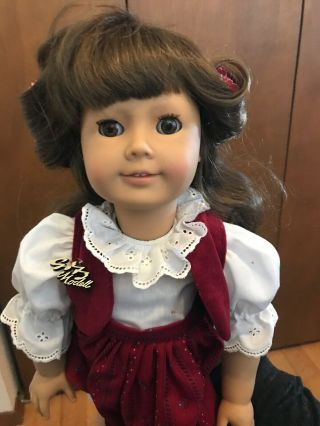 "Rare Gotz Puppe Modell 18 "" Doll All Vinyl W.  Germany Outfit Pretty Box"