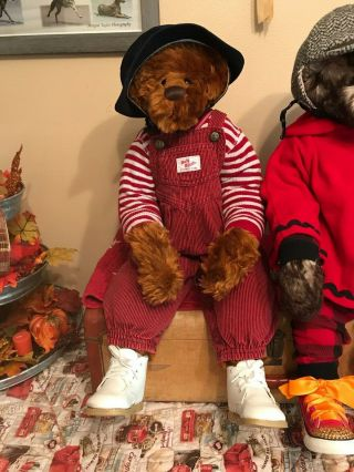 Rare Cinnamon Gloria Franks Goose Creek Teddy Toddler Mohair Bear Armature 29 ""