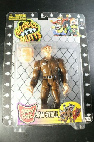 Rare 1996 Street Wise Muscle Mutts Stray Cats Same Stale